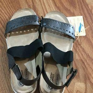 Earth Spirit Womens Gelron Cushion Footbed Sandals